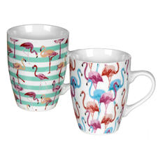Flamingo 2-pc Mug Set