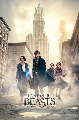 Fantastic Beasts Poster New York Streets
