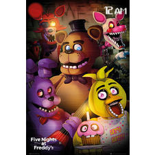 Five Night's at Freddy's Poster -