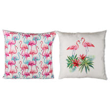 Flamingo Kissen Tropical