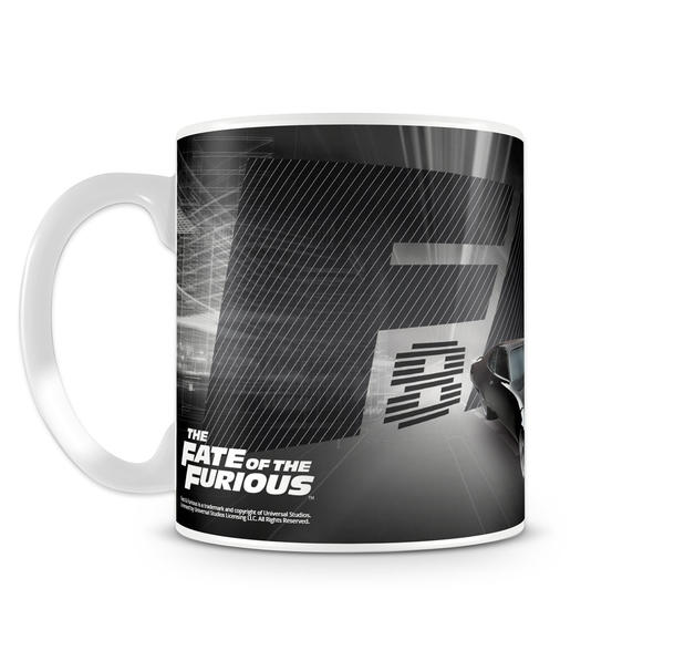 fast furious 8 tasse the fate of the furious aus keramik. Black Bedroom Furniture Sets. Home Design Ideas