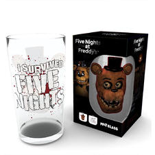 Five Nights at Freddy's Glass -