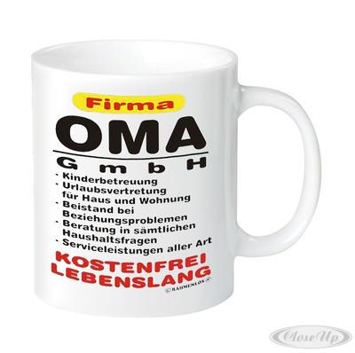 Firma Oma GmbH Tasse