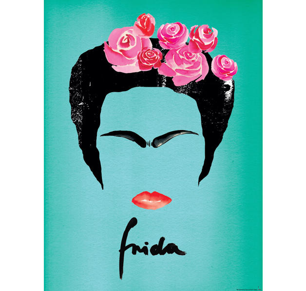 frida kahlo kunstdruck janette kunstdrucke jetzt im shop. Black Bedroom Furniture Sets. Home Design Ideas