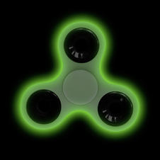 "Finger Spinner ""Glow in the"