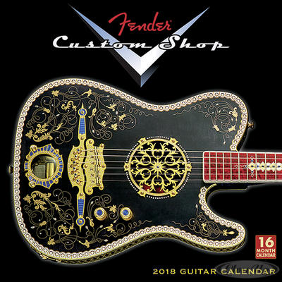Fender Custom Shop 2018 Kalender