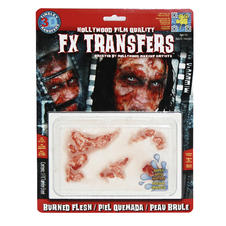 FX Transfers Burned Skin