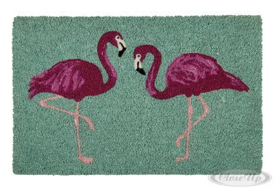 Flamingo Fußmatte | Heimtextilien > Fussmatten