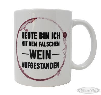 Falscher Wein Tasse