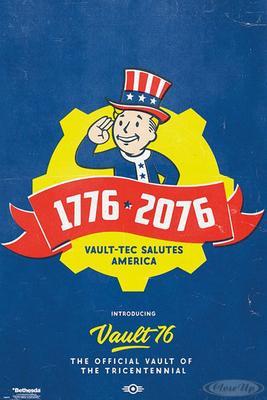 Fallout 76 Poster Tricentennial
