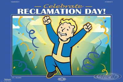 Fallout 76 Poster Reclamation Day