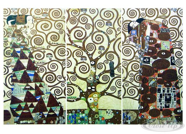Gustav Klimt Tree of Life (Kunstdruck)