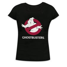 Ghostbusters Girlie-Shirt Logo