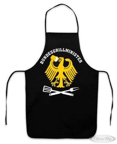 Grillschürze Grillminister Bundesgrillminister - Sonstige Textilien