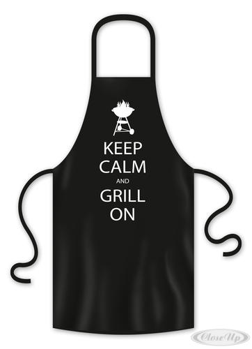 Grillschürze Keep Calm And Grill On - Sonstige Textilien