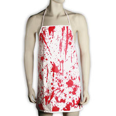 Barbecue apron blood bath