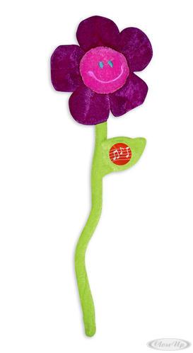 """Glückwunsch-Blume mit Musik """"Happy Birthday"""" Plüschblume - Scherzartikel"""