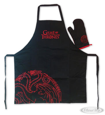 Game of Thrones Koch- & Grillschürze Targaryen