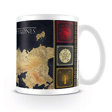 Game of Thrones Tasse Map