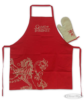 Game of Thrones Koch- & Grillschürze Lannister
