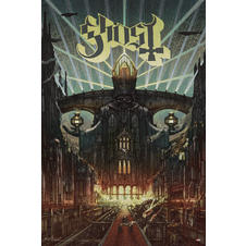 "Ghost ""Meliora"" Poster"