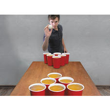 "Giant ""Beer Pong"" Game"