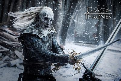 Game of Thrones Poster Staffel 6 White Walker