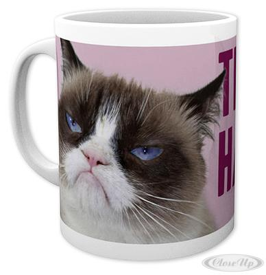 Grumpy Cat Tasse THIS IS MY HAPPY FACE