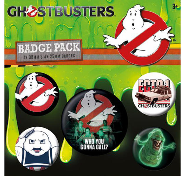 Ghostbusters 3 Button Set