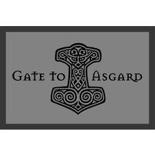 Gate to Asgard Fußmatte