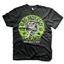 Gas Monkey Garage T-Shirt - Green Logo