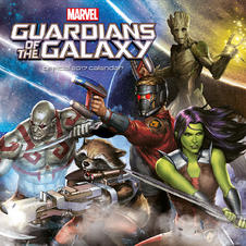 Calendar 2017 - Guardians of the Galaxy