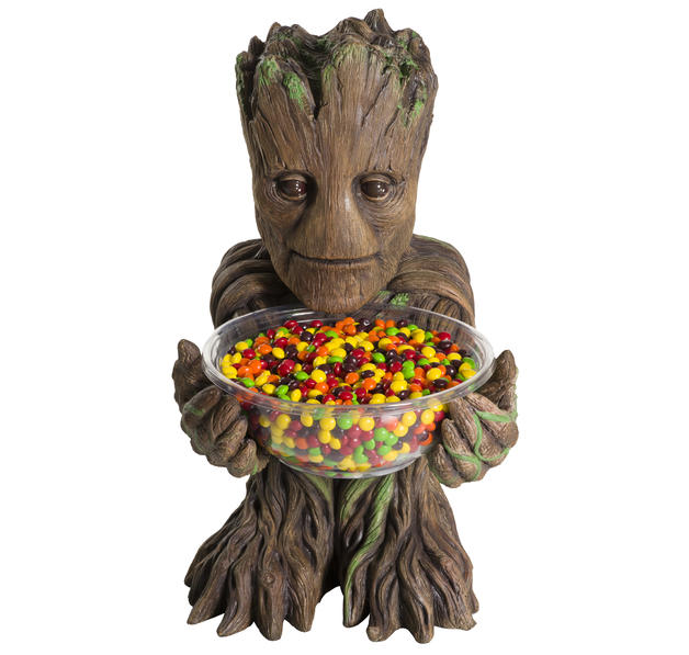guardians of the galaxy candy bowl holder groot b sten. Black Bedroom Furniture Sets. Home Design Ideas