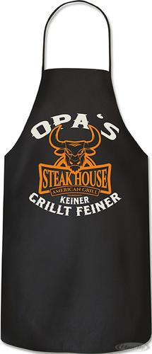 Grillschürze Opa's Steakhouse