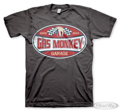 Gas Monkey Garage American Label T-Shirt   Baumarkt > Garagen und Carports