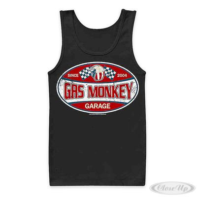 Gas Monkey Garage Label Tank Top | Baumarkt > Garagen und Carports