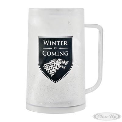 Game of Thrones Krug Freeze Stark - broschei