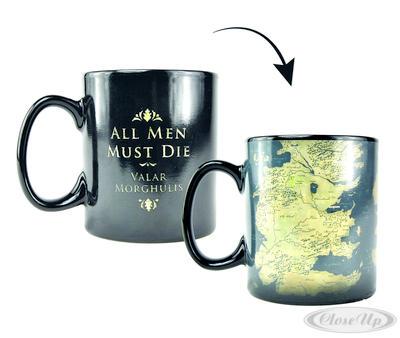 Game of Thrones Thermoeffekttasse Map - broschei