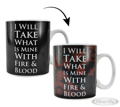 Game of Thrones Thermoeffekttasse Daenerys - broschei