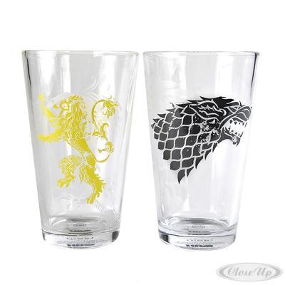 Game of Thrones Gläser 2er Set Stark und Lannister jetztbilligerkaufen