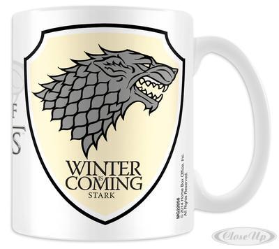 Game of Thrones Tasse Stark - broschei