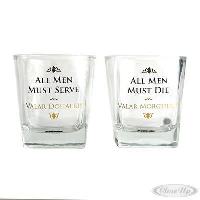 Game of Thrones Whiskeygläser 2-er Set, All Men Must... - broschei