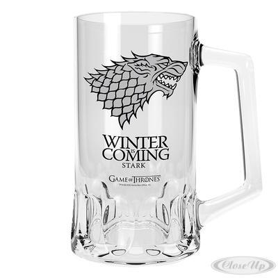 Game of Thrones Glas-Bierkrug Stark Logo jetztbilligerkaufen