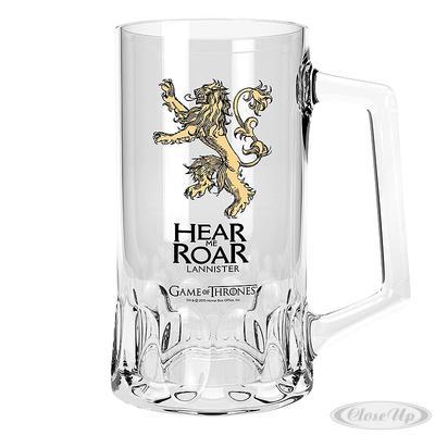 Game of Thrones Glas-Bierkrug Lannister Logo jetztbilligerkaufen