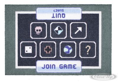 Gamer Fußmatte Join Game Quit