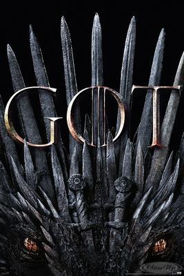 Game of Thrones Poster Iron Throne & Dragon | Dekoration > Bilder und Rahmen > Poster