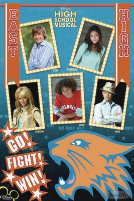 High School Musical-East high Poster