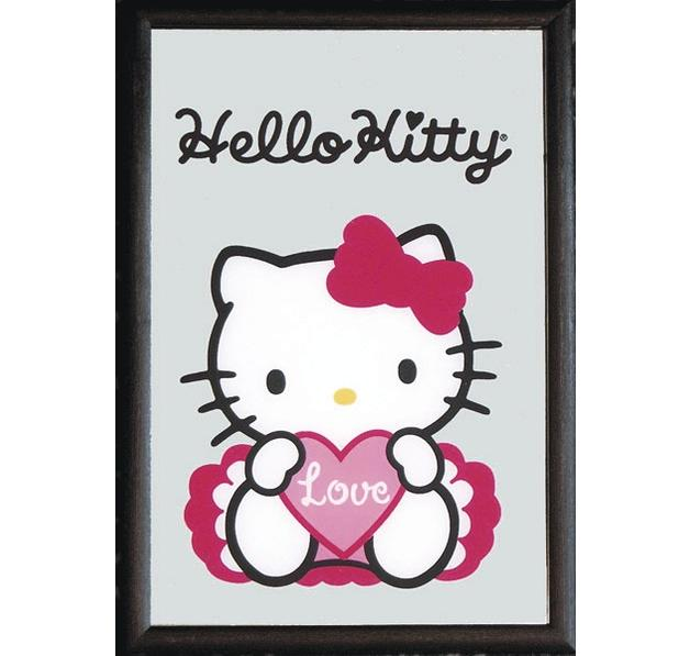 Hello Kitty mirror love - Printed Mirrors buy now in the shop Close Up ...