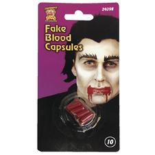 FAKE BLOOD CAPSULES