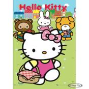 Hello Kitty 3D Poster Friends